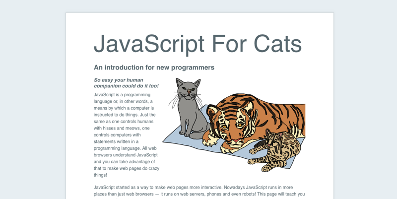 javascript-for-cats