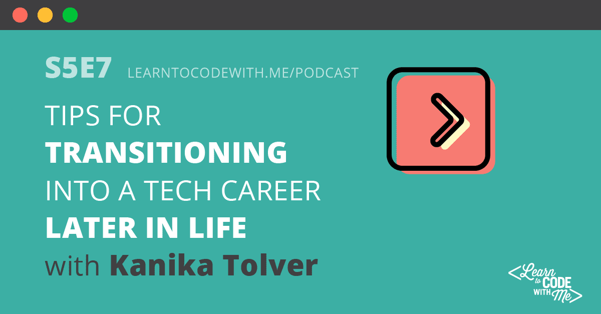 Transitioning Into Tech Later in Life