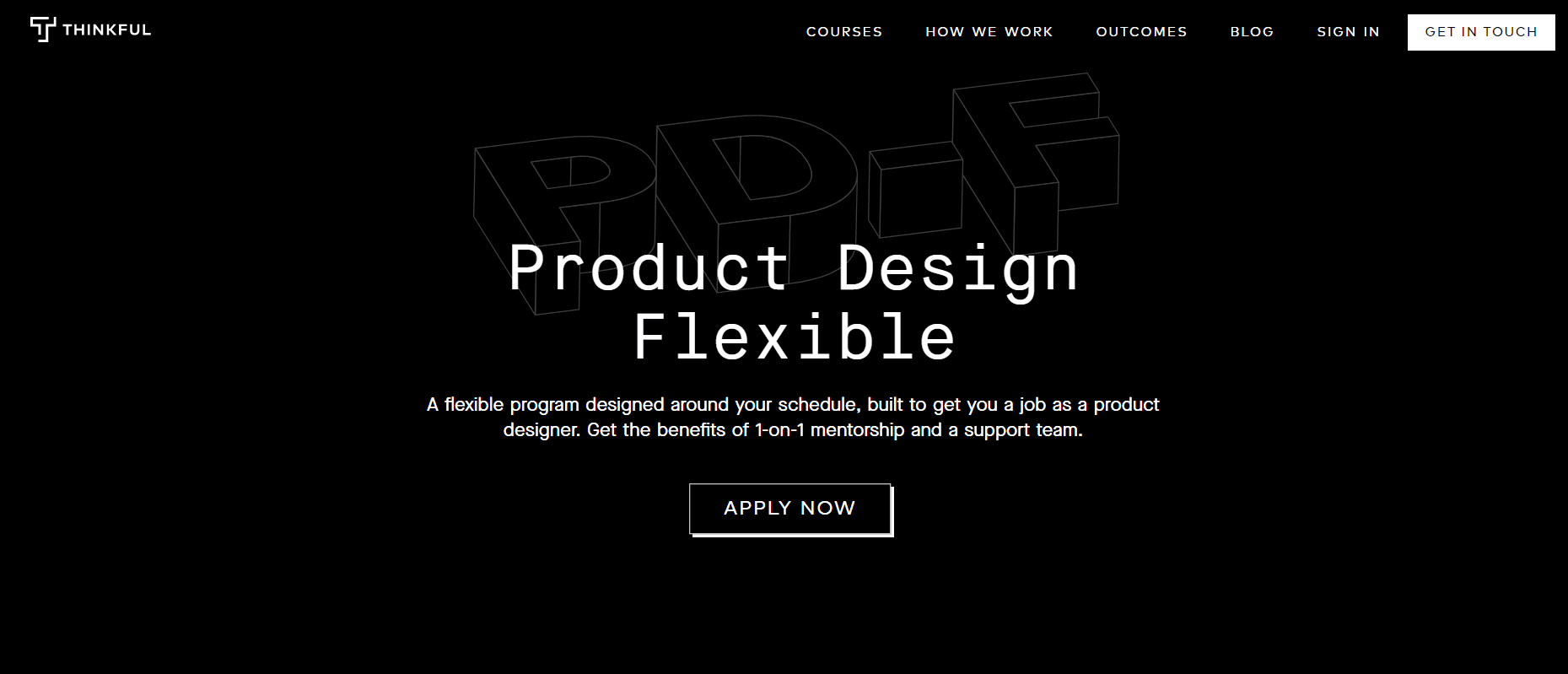 Thinkful Product Design Flexible