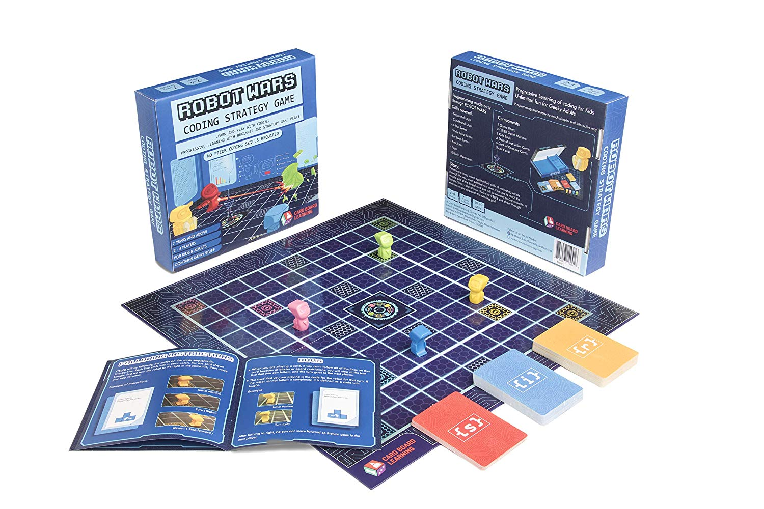 robot wars coding board game